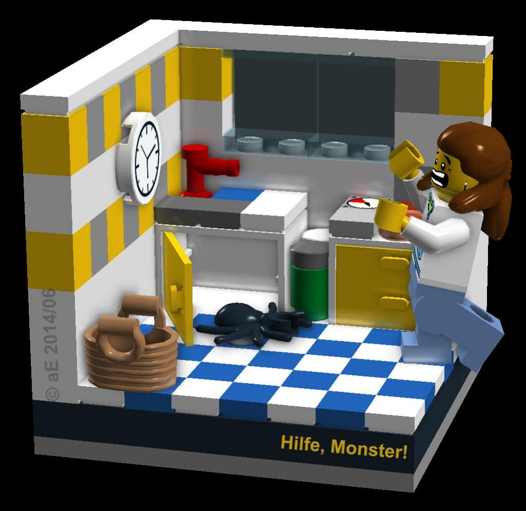 LEGO MOC – Vig. Ein Monster in der Küche! | aE-Notizen