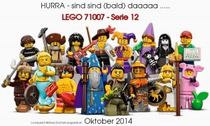 71007 Minifigures Series 12 alle